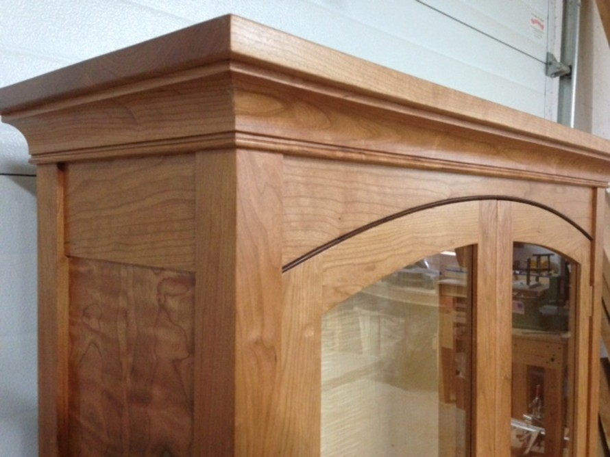 Cherry, Maple and Wenge Display Case