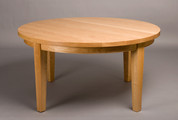 Round Chalford Farmhouse table. Shown in Cherry.