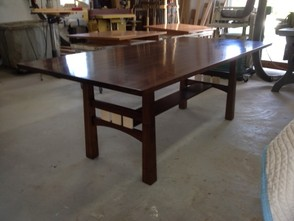 Vermont Made Custom Walnut Dining Table
