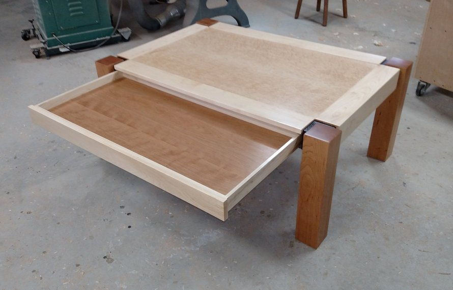 Linking Contemporary And Traditional The New Trio Coffee Table John Lomas Custom Furniture Blog