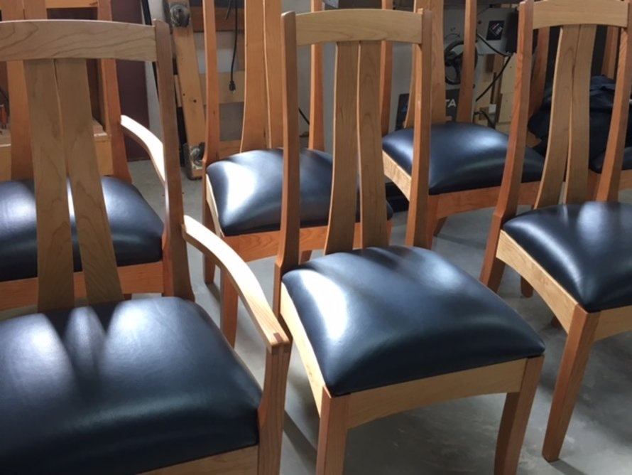 Cherry Fountainbrook Chairs