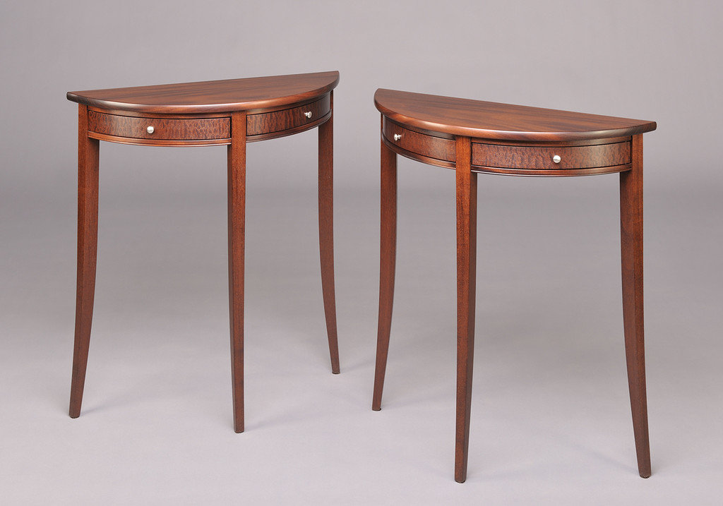Demi-Lune Side Tables