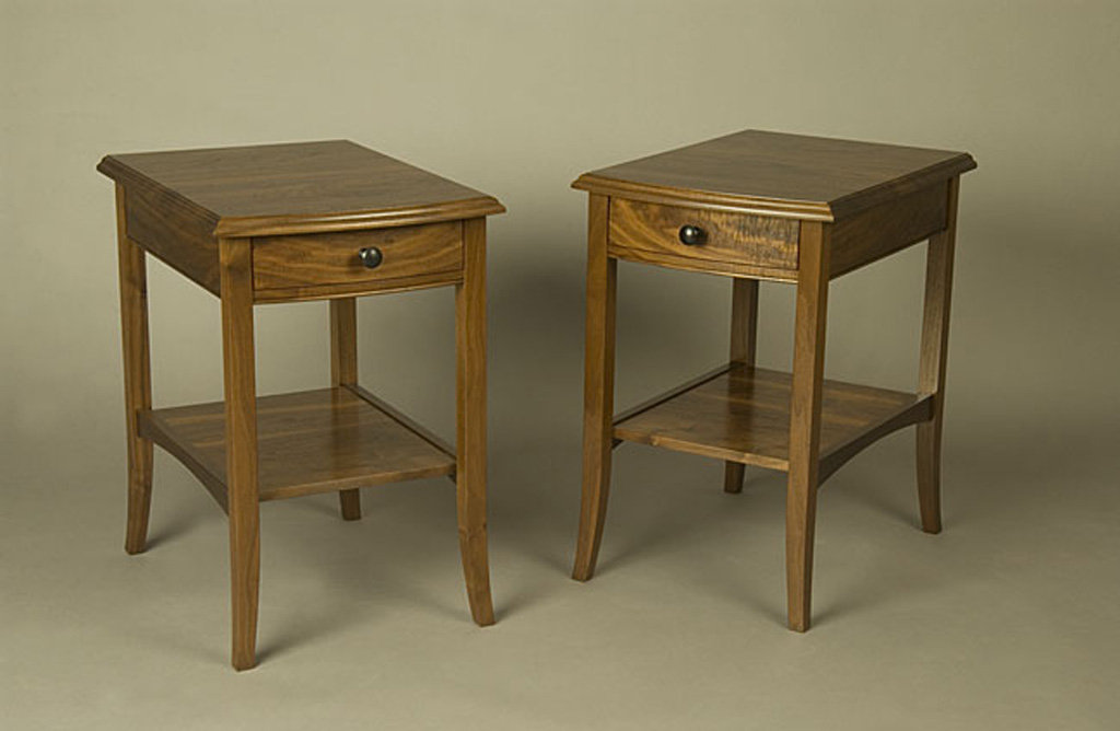 Regency Bowfront End Tables & Nightstands
