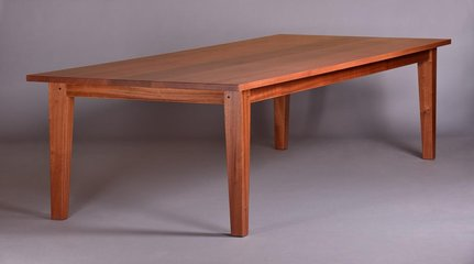 This is a large custom size 10ft x 4ft version of the table made in Ribbon Sapele. Please call for price.